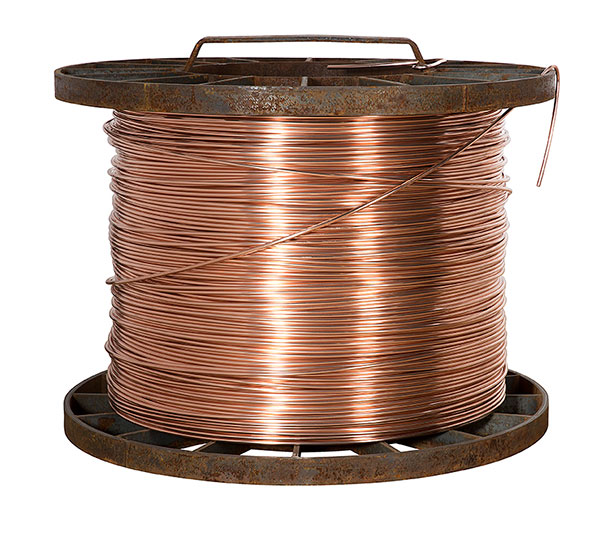 COPPER drawn wire